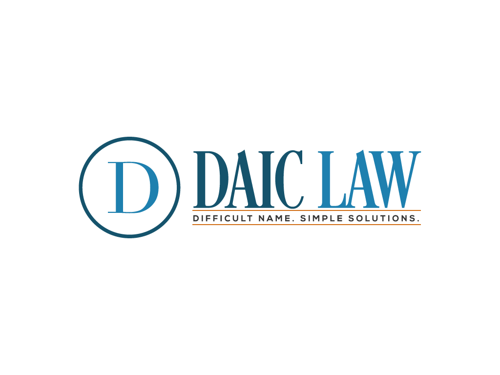 Daic Law. Difficult Name. Simple Solutions.