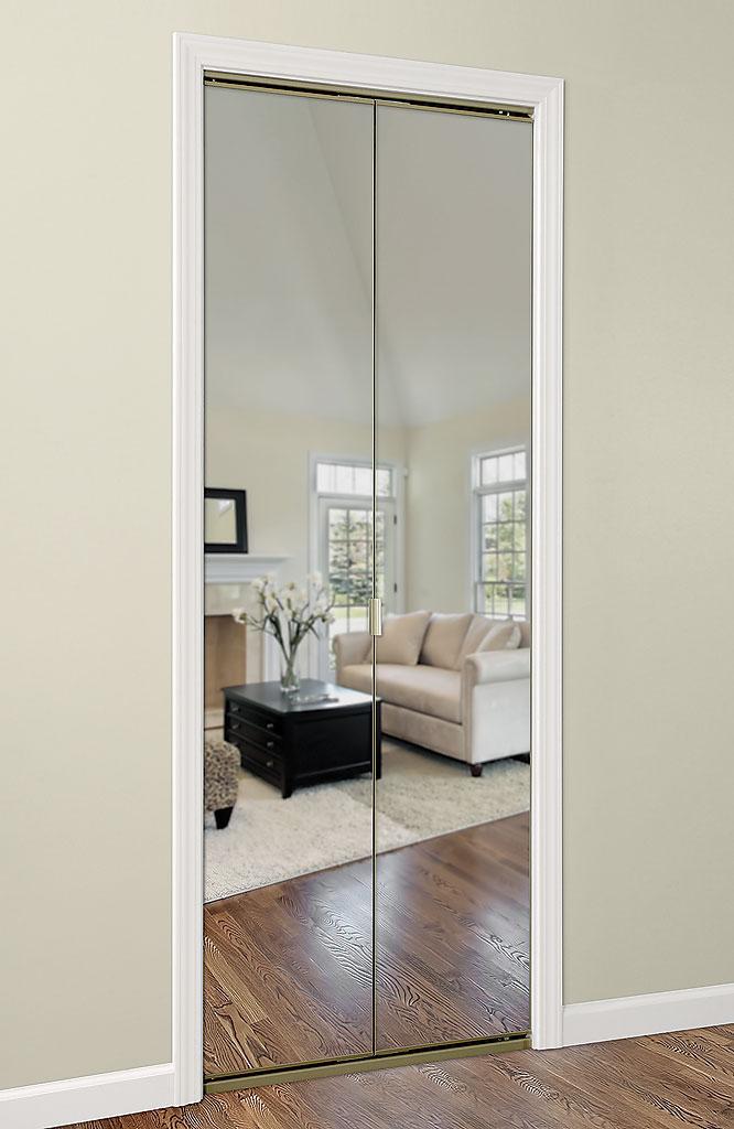 Series 4002 Bifold Mirror Door Daiek Door Systems