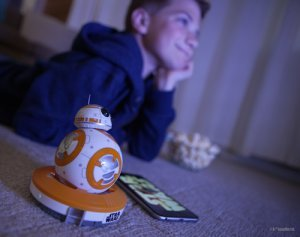 一緒に『Star Wars The Force Awakens』(フォースの覚醒) を鑑賞