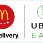 マクドナルドが「UberEATS(ウーバー イーツ)」を導入