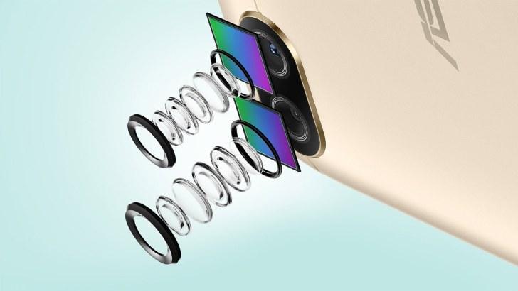ASUS-ZenFone-4-Maxのデュアルカメラ
