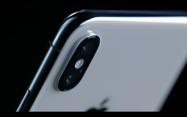 iphoneXの外観ステンレス