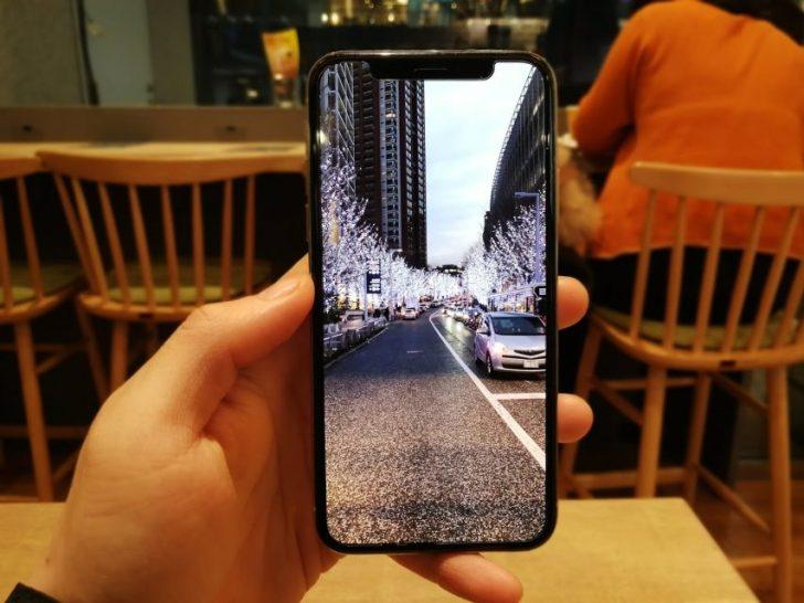 iphonexで写真を拡大