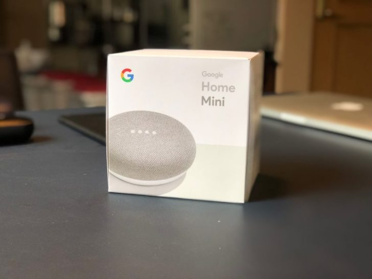 google_home_mini_chalkの箱