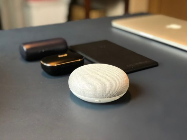 google_home_mini_chalk本体
