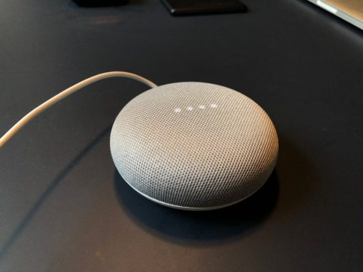 google_home_mini_chalkを起動