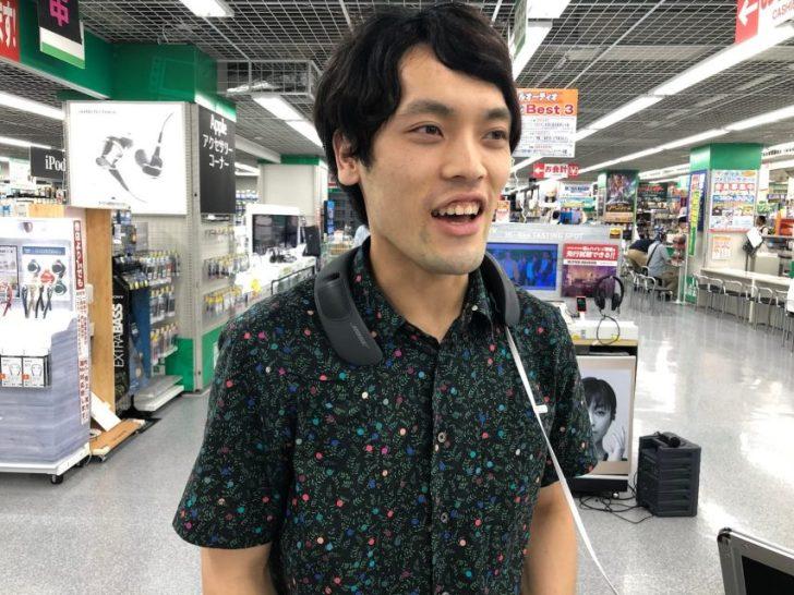 bose_sound_ware_companionが展示されているヤマダ電機池袋本店で試着・試聴するdaiking