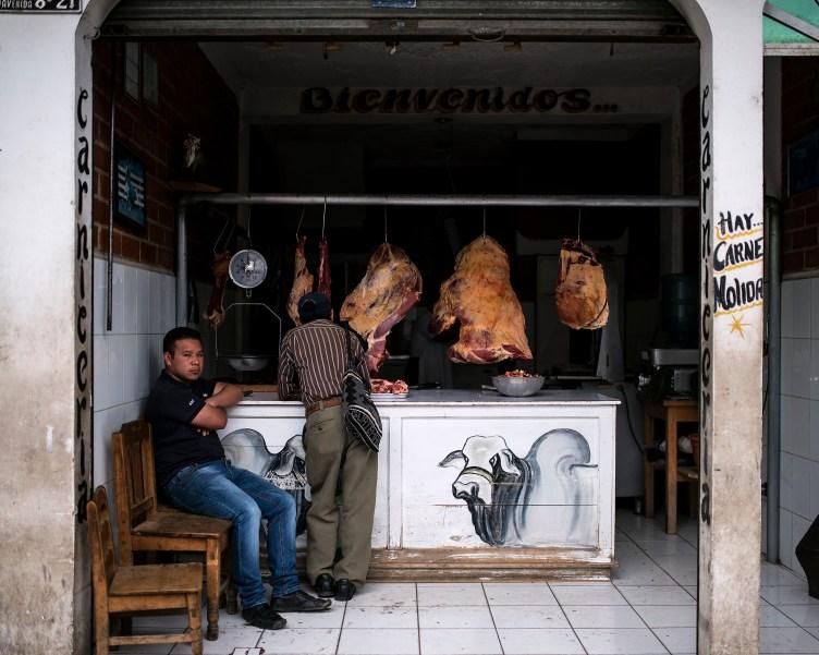 Chichicastenango – Butcher's shop