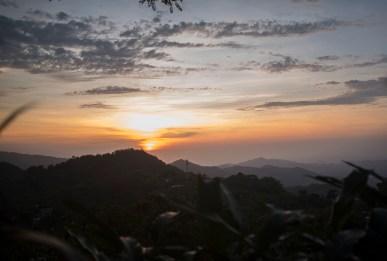 Sunset in Minca