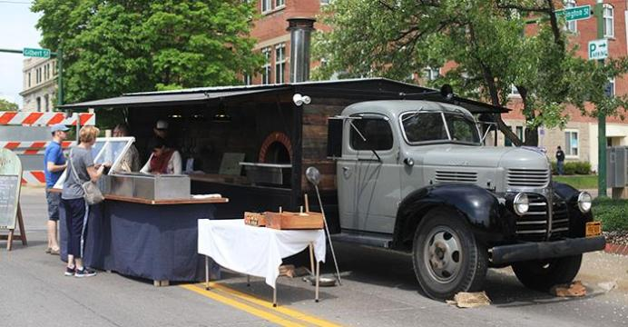 The Provender A New Food Truck Parks At Iowa City Farmers Market On Saturday May 2nd Specializes In Wood Fired Pizza And Offers Beer