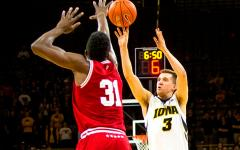 Iowa picks up first tournament win over UAB