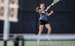 Both tennis teams fall in Big Ten tourneys