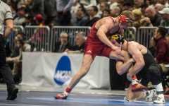 Freshmen lead Iowa to semifinals at NCAAs