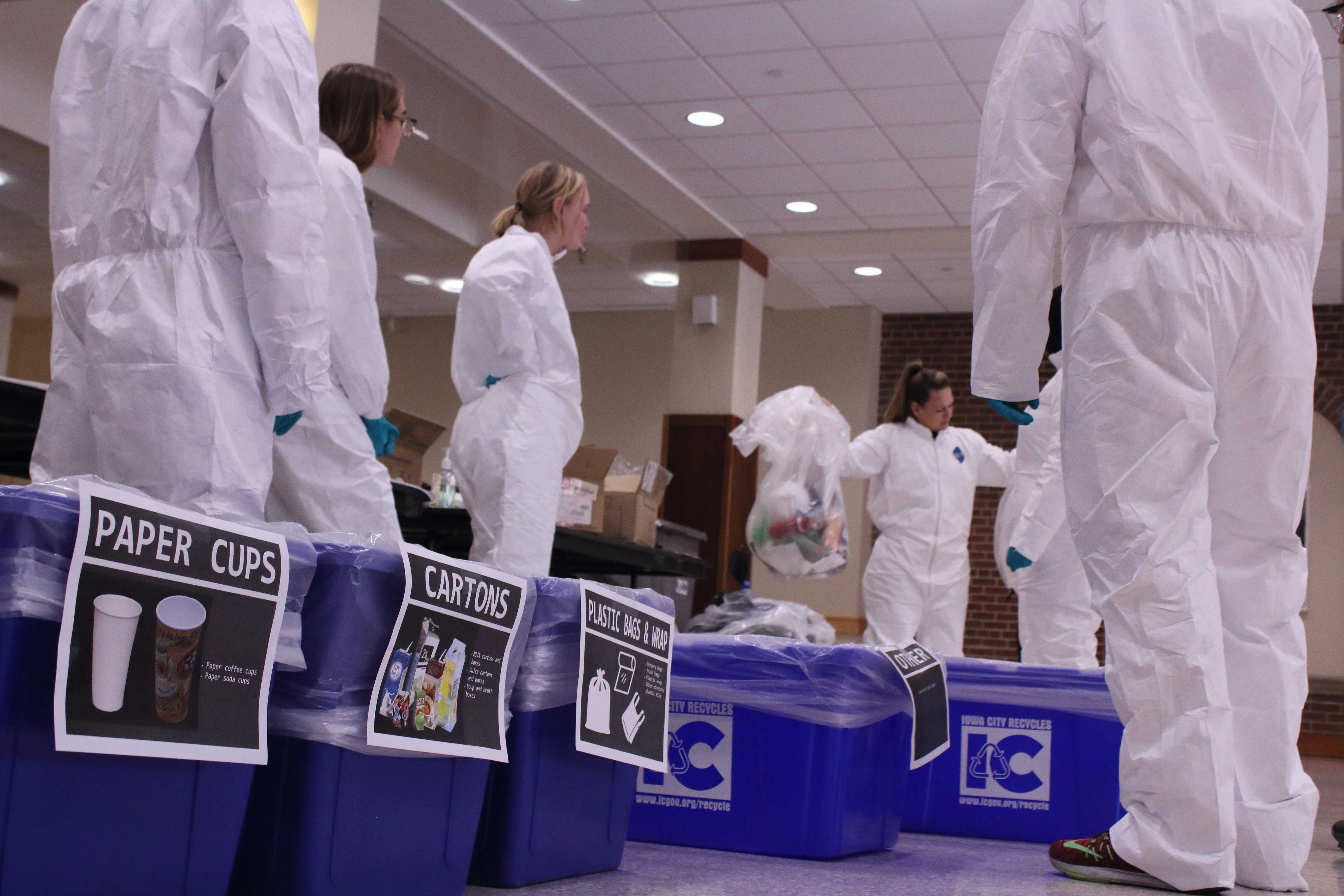 Ui Continues Digging Recycling Habits Based On Waste Audit