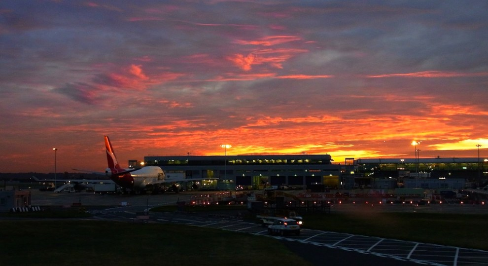 Heathrow Sunset