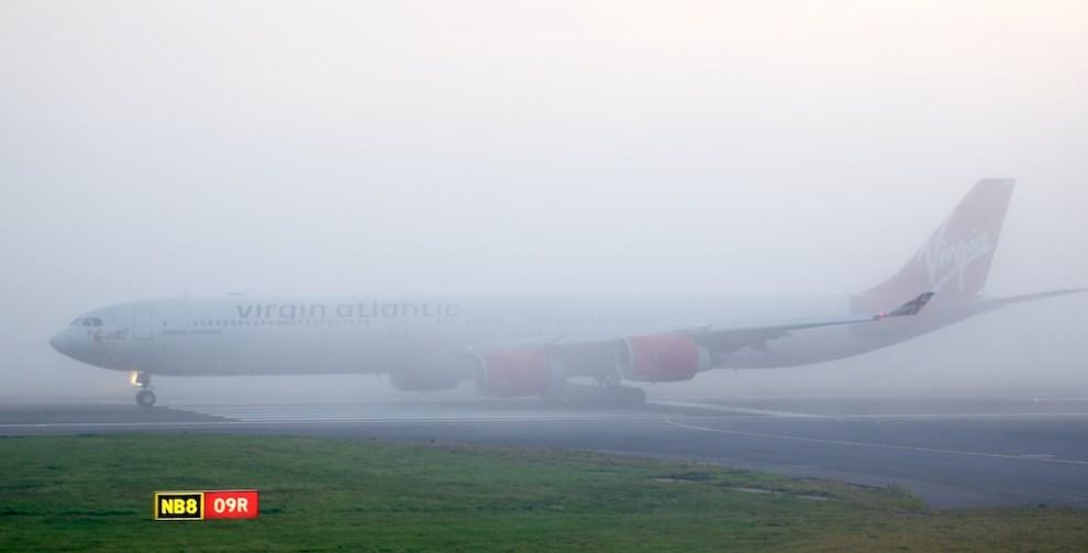 Foggy Take-Off