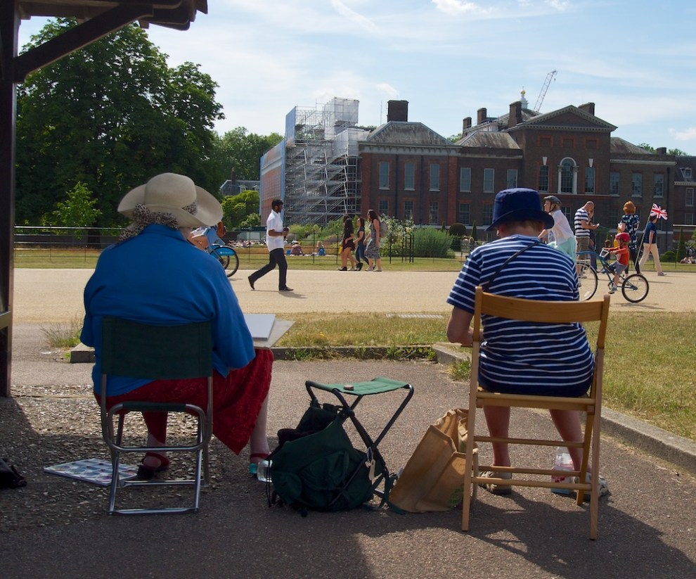Painting Kensington Palace