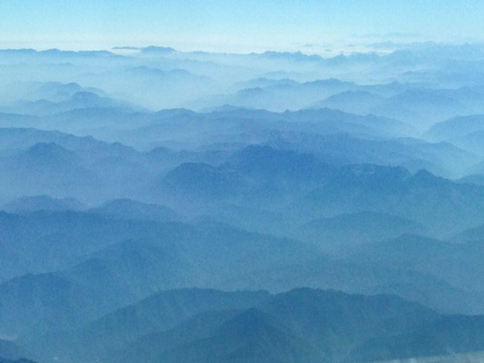 Chengdu Mountains