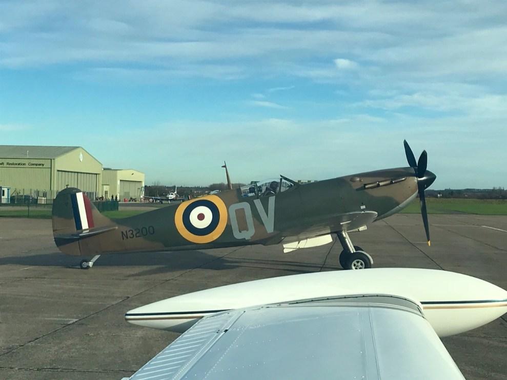 Duxford Spitfire Mk 1