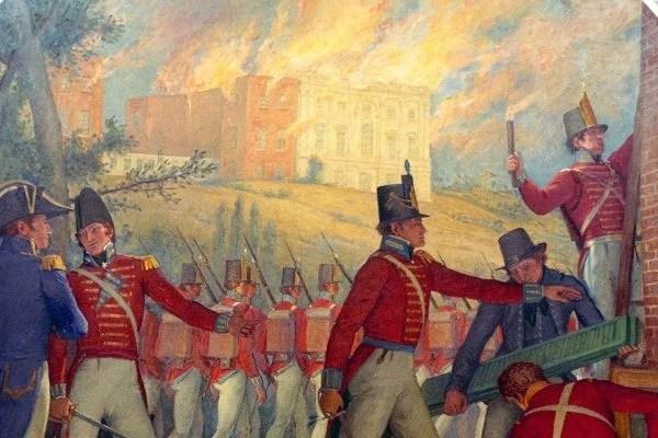 British burn Washington, 1814