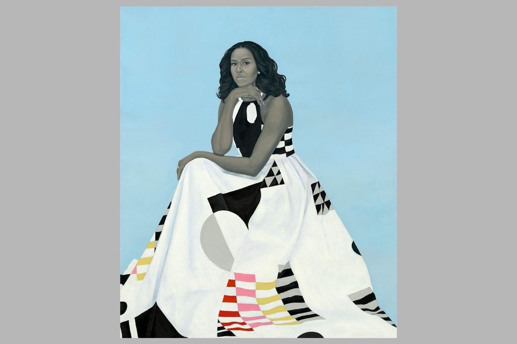 What Amy Sherald Tells Us With Michelle Obamas Dress