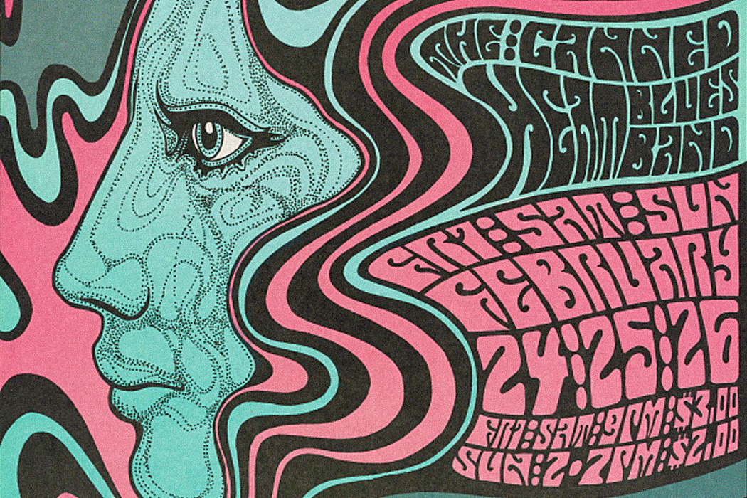 when posters went psychedelic