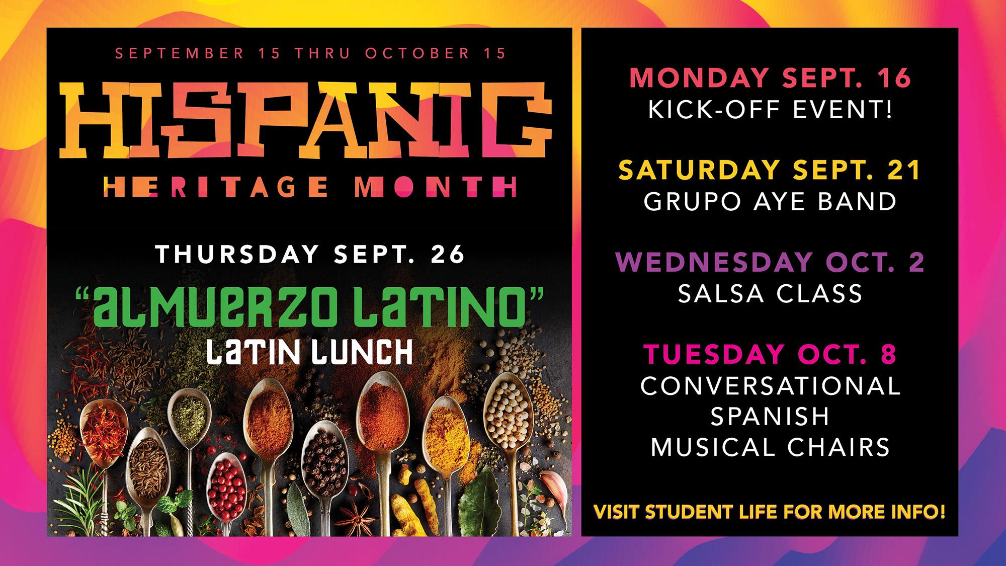 Kcc To Celebrate Hispanic Heritage Month With Events In