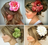 Accent Your Wedding Look with Silk Flower Hair Clips ...