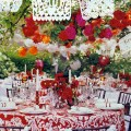 Photo credit garlands of papel picado by dasha wright via brides com