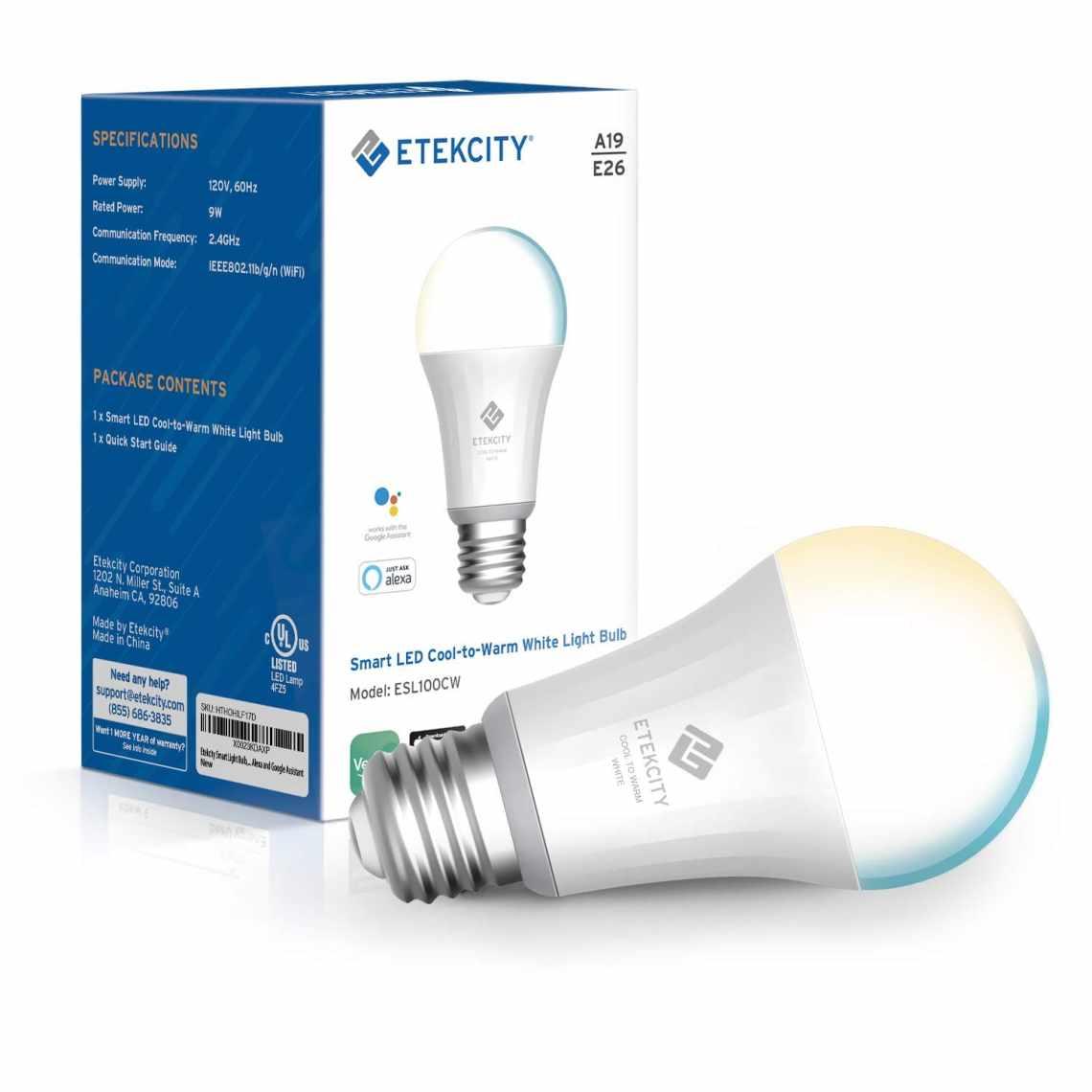 Etekcity Smart Light Bulb