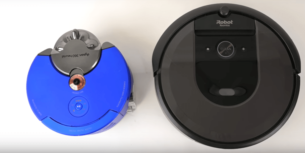 size smaller than other robot vacuums