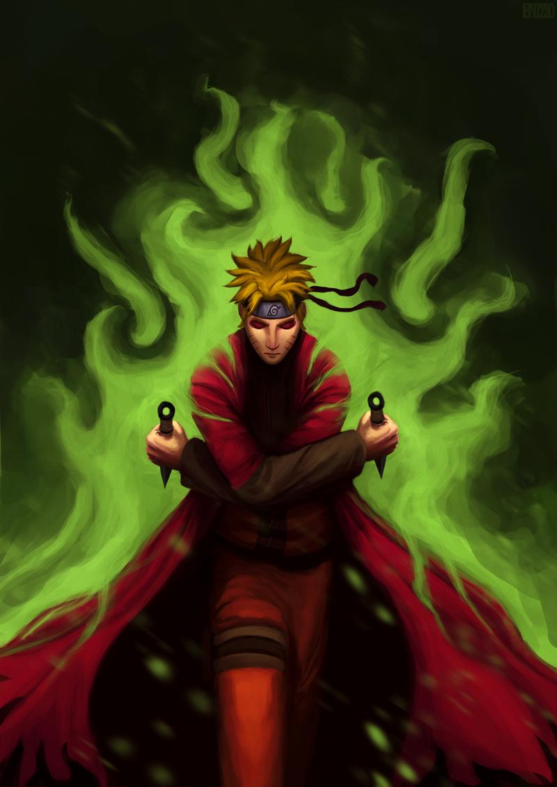 Naruto Sage Mode Daily Anime Art