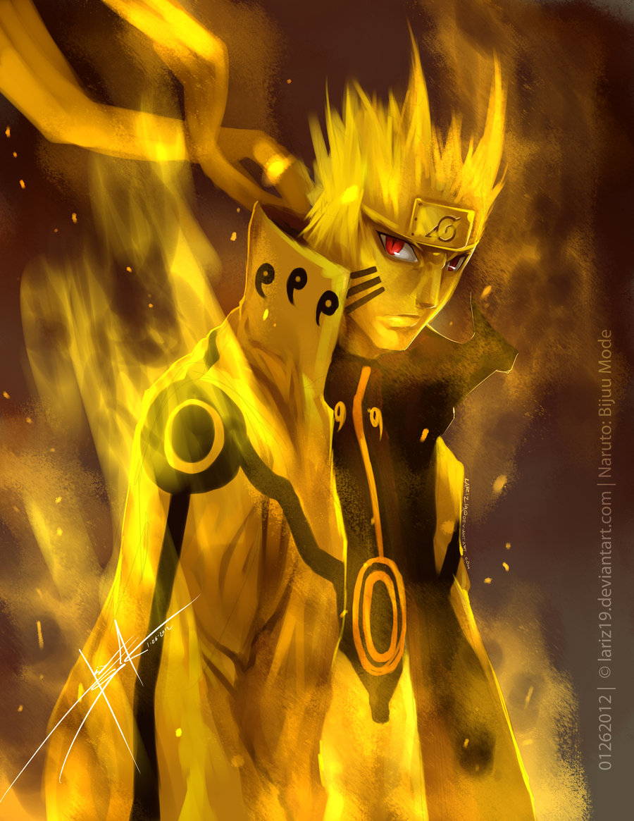 Sorprendentes Imgenes De Naruto Modo Bijuu Taringa
