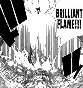 Natsu's Brilliant Flame