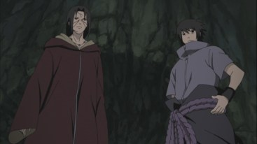 Itachi and Sasuke to fight Kabuto