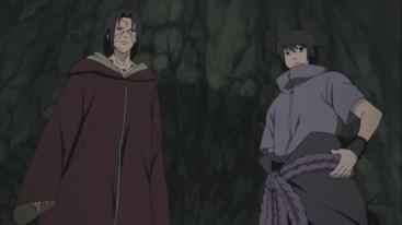 Itachi and Sasuke to fight Kabuto