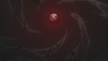 Blood drips from the sky Obito