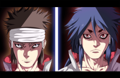 Naruto 670 Indra and Ashura by Sama15