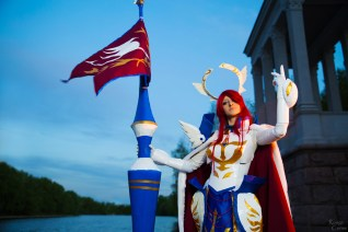 Fairy tail Erza Scarlet Farewell Cosplay by Hanuro-Sakura