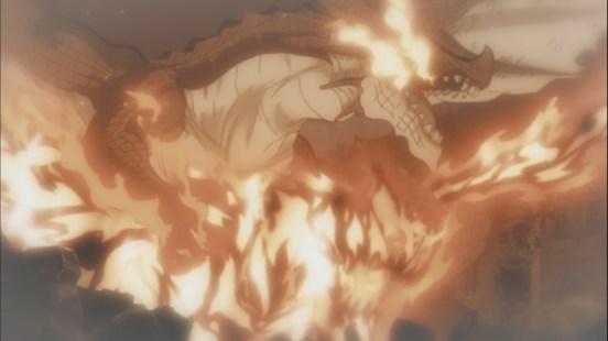 Atlas Flame feels Igneel's presense in Natsu