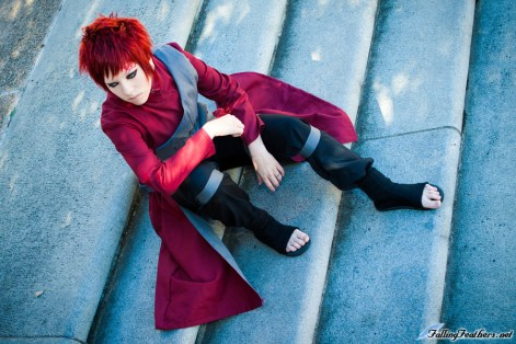 Gaara Cool Cosplay by Nekomatalee