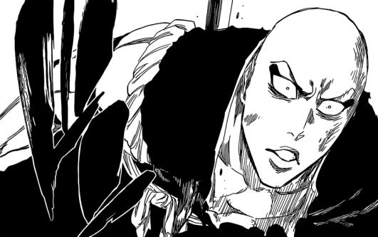 Ikkaku stabbed by Toshiro
