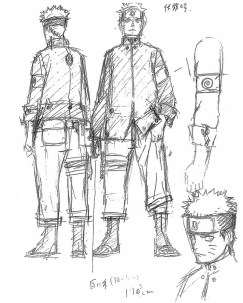 Naruto is taller new look