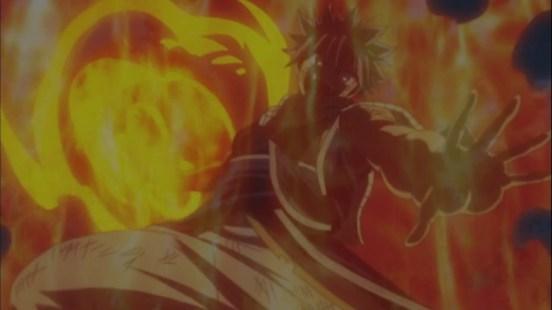 Natsu's power attack