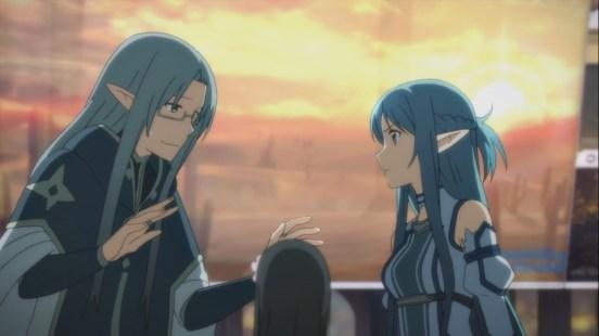 Asuna angry