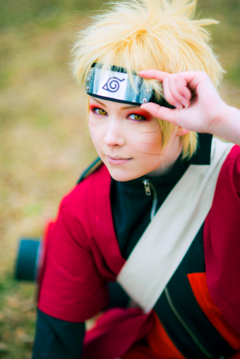 Naruto Uzumaki Sage Mode Cosplay by mimixum