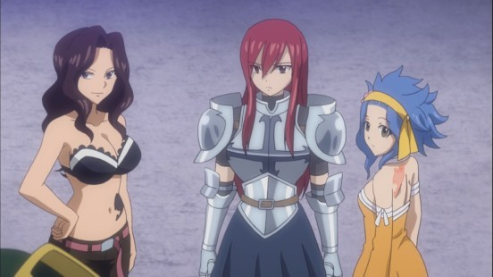 Cana Erza and Levy