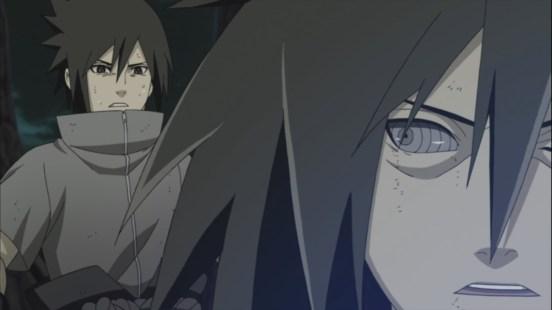 Madara stops Sasuke