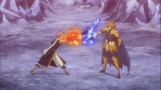 Natsu vs Loke