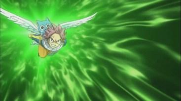 Natsu flys ahead